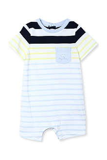 BOSS Striped playsuit 1-18 months