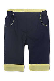BOSS Reversible cotton trousers 1-18 months
