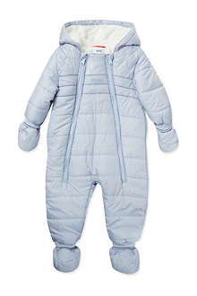 HUGO BOSS Quilted snowsuit 1-12 months