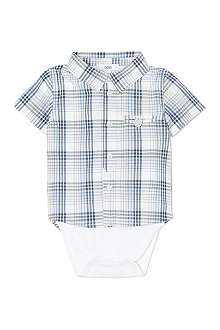 BOSS Bodysuit with checked shirt 1-18 months