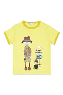 LITTLE MARC Graphic print t-shirt 3-36 months