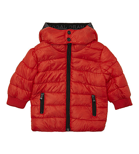 LITTLE MARC Quilted puffa jacket 6-36 months (Red