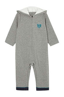 LITTLE MARC Tiger hooded sleepsuit 1-18 months