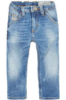DIESEL Light wash stretch jeans 3-36 months