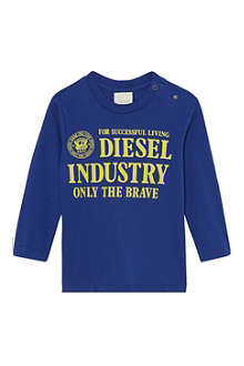 DIESEL Graphic long-sleeved top 3-36 months