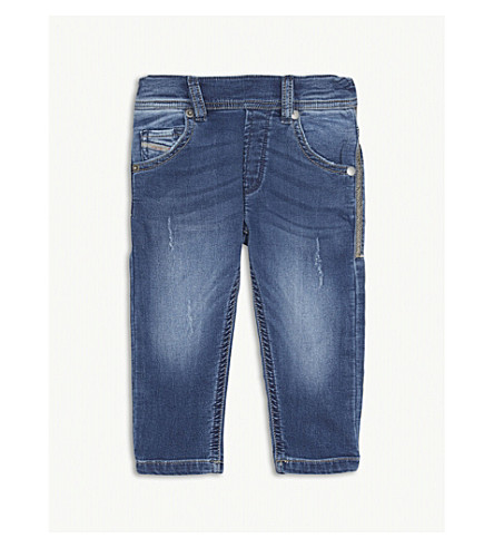 DIESEL Crooley mid-wash jeans 6-36 months (Denim