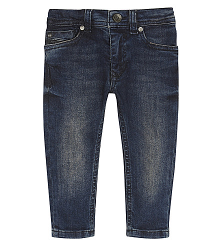 DIESEL Slinkeer cotton jeans 6-24 months (Denim