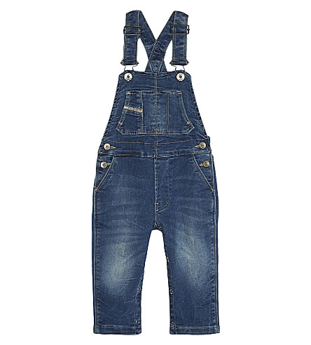 DIESEL Denim dungarees 6-24 months (Denim