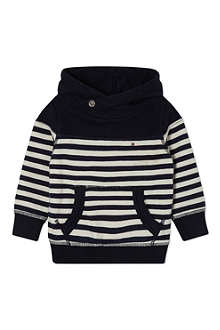 TOMMY HILFIGER Hampton striped hoodie 3-24 months