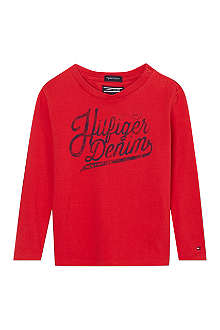 TOMMY HILFIGER Long-sleeved cotton t-shirt 6-24 months