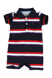 TOMMY HILFIGER Striped polo bodysuit 0-9 months