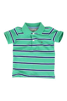 TOMMY HILFIGER Striped polo shirt 0-12 months