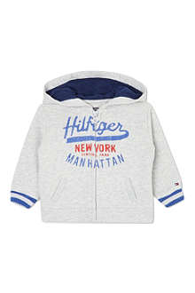 TOMMY HILFIGER Hooded zipped sweatshirt 0-9 months