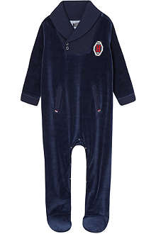 TOMMY HILFIGER Shawl collar coverall newborn-12 months