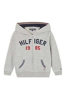 TOMMY HILFIGER Zip-through logo hoodie 0-12 months