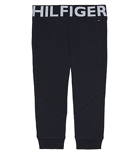 TOMMY HILFIGER Logo print jogging bottoms 6-36 months (Navy