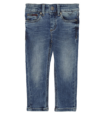TOMMY HILFIGER Water repellent slim-fit jeans 6-36 months (Denim+blue