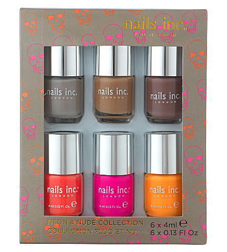 NAILS INC Neon and Nude collection