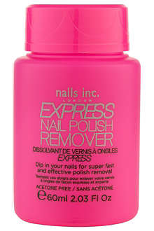 NAILS INC Express nail polish remover