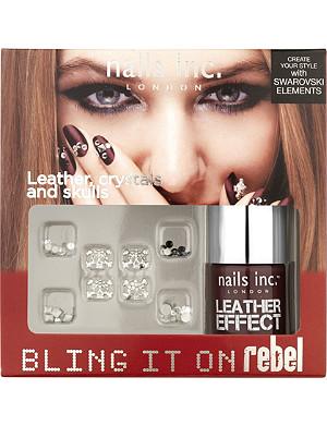 NAILS INC Bling It On Rebel nail polish set