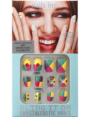 NAILS INC Bling It On Crystaltastic spring pastels collection