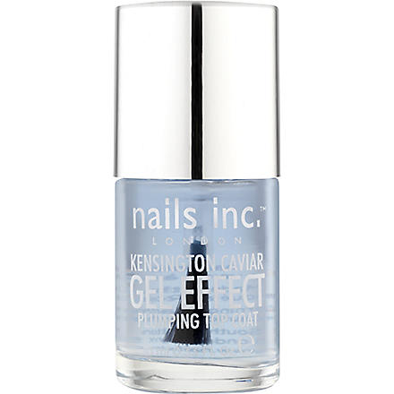 NAILS INC Kensington Caviar Plumping top coat