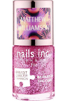 NAILS INC Matthew Williamson Pinkie Pink nail polish