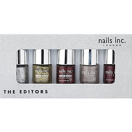 NAILS INC The Editors nail polish collection