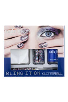 NAILS INC Bling It On Glitterball collection
