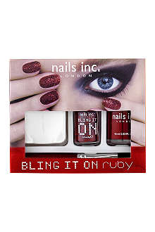 NAILS INC Bling It On Ruby collection