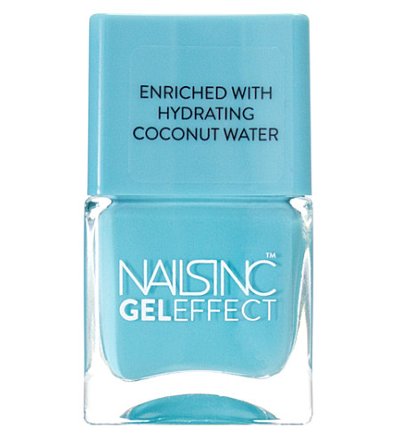 NAILS INC Gel-effect nail polish (Aqua+blue