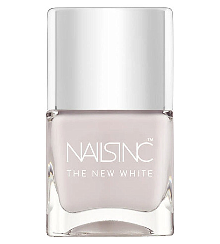 NAILS INC The New White nail polish (White+horse+new+white