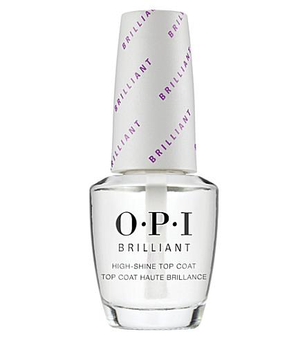 OPI Brilliant Shine top coat 15ml (Clear