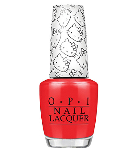 OPI Hello Kitty nail polish (5+apples+tall