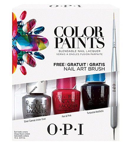 OPI Colour paints collection nail polish trio pack (Trio+pack