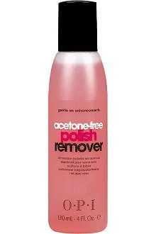 OPI Acetone-free nail polish remover