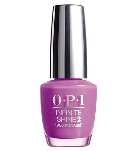 OPI Infinite Shine nail polish (Grapely+admired