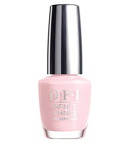 OPI Infinite Shine nail polish (Pretty pink