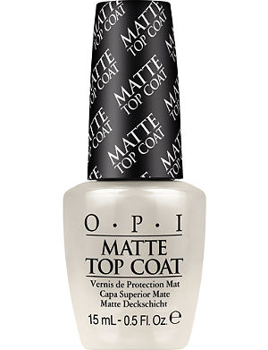 OPI Matte top coat polish