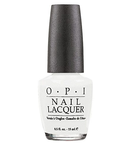 OPI Soft Shades nail polish (Alpine+snow