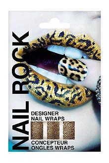 NAIL ROCK Leopard nail wraps
