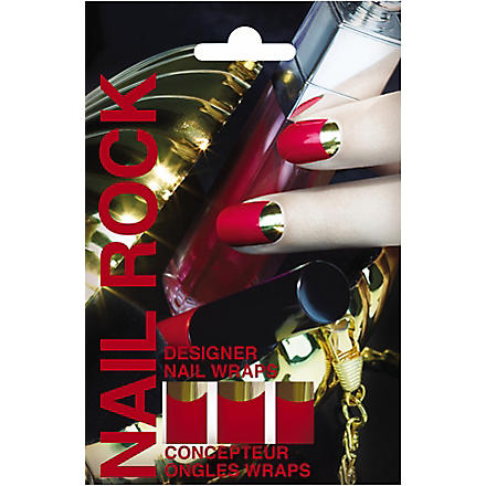 NAIL ROCK Metallic Moon nail wraps