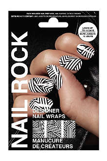 NAIL ROCK Monochrome nail wraps