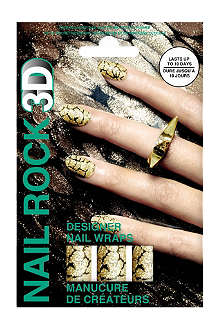 NAIL ROCK Glister Gold nail wraps