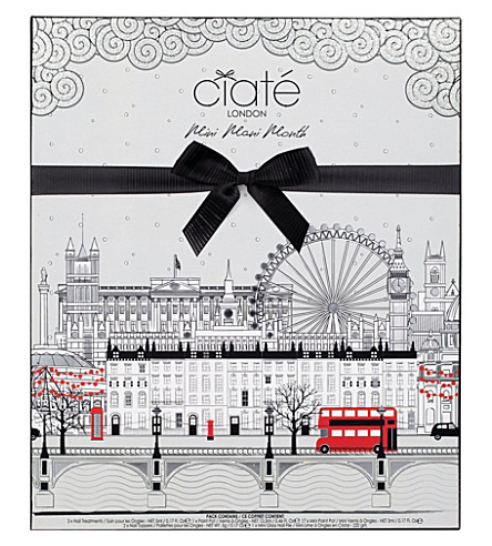 CIATE Mini Mani Month Advent Calendar (Nail+kit