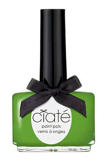 CIATE Suncatcher Collection Palm Tree Paint Pot - creme