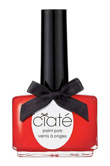 CIATE Suncatcher Collection Red Hot Chilli Paint Pot - creme