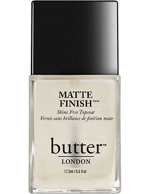 BUTTER LONDON Matte finish top coat