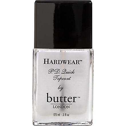 BUTTER LONDON Hardwear P.D Quick topcoat