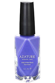 AZATURE Purple Diamond nail polish